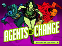 Siemens Agents of Change characters