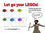 Let go your LEGOs!