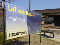 LTBN banner at Northpoint